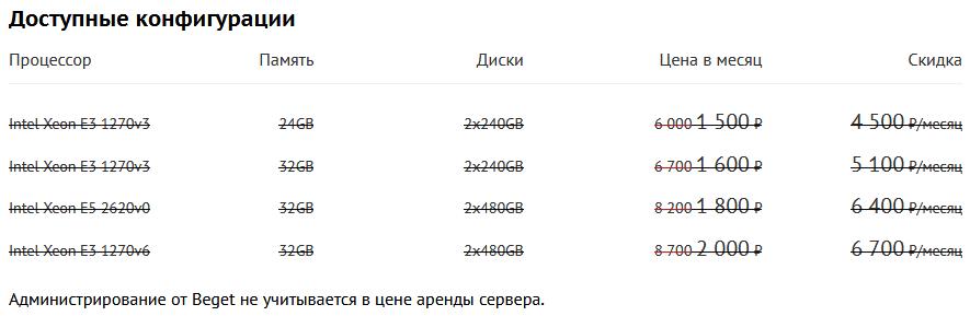 Скидки на выделенные серверы в Чёрную пятницу